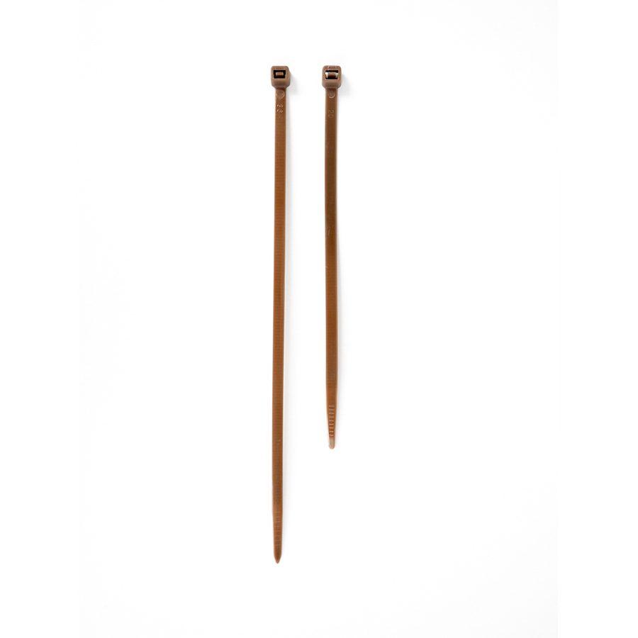 Bridas de nylon marrón 20cm (50u) – Atanet 20 M