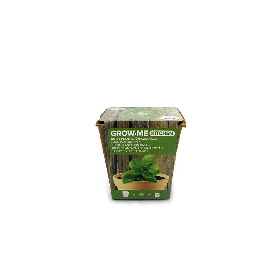Kit de cultivo con semillas de albahaca – Grow me kitchen albahaca