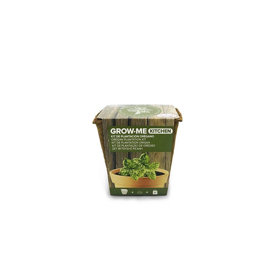 Kit de cultivo con semillas de orégano – Grow me kitchen orégano