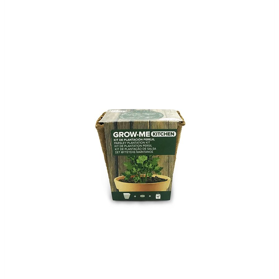 Kit de cultivo con semillas de perejil – Grow me kitchen perejil