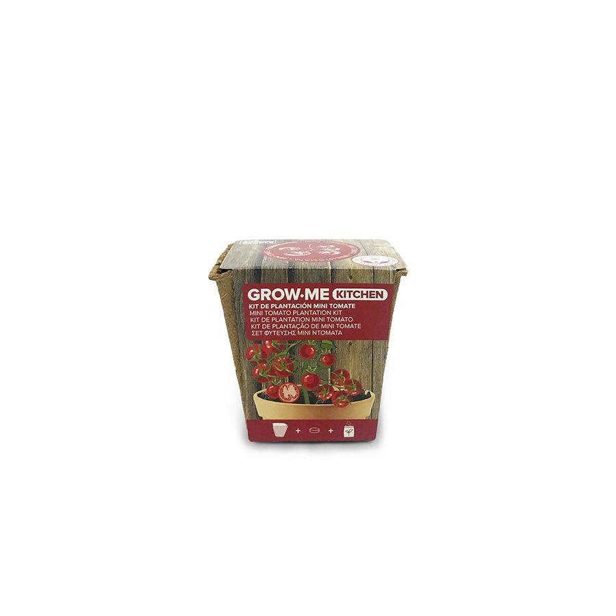 Kit de cultivo con semillas de tomate príncipe burgués – Grow me kitchen tomate