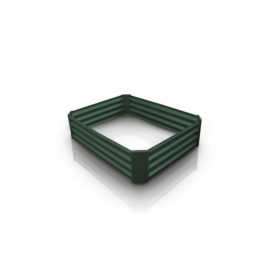 Cama de cultivo verde 120x90x30cm – Growbed V