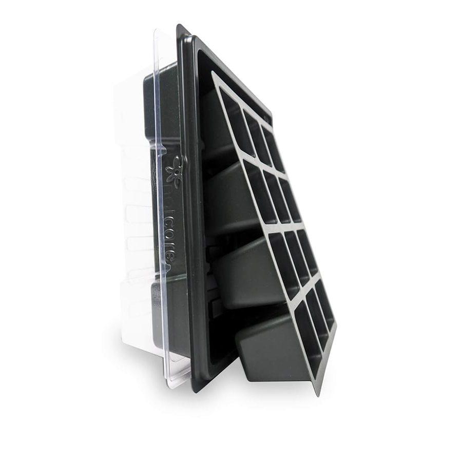 Semillero de 12 celdas con cubierta transparente – Sporohouse 12