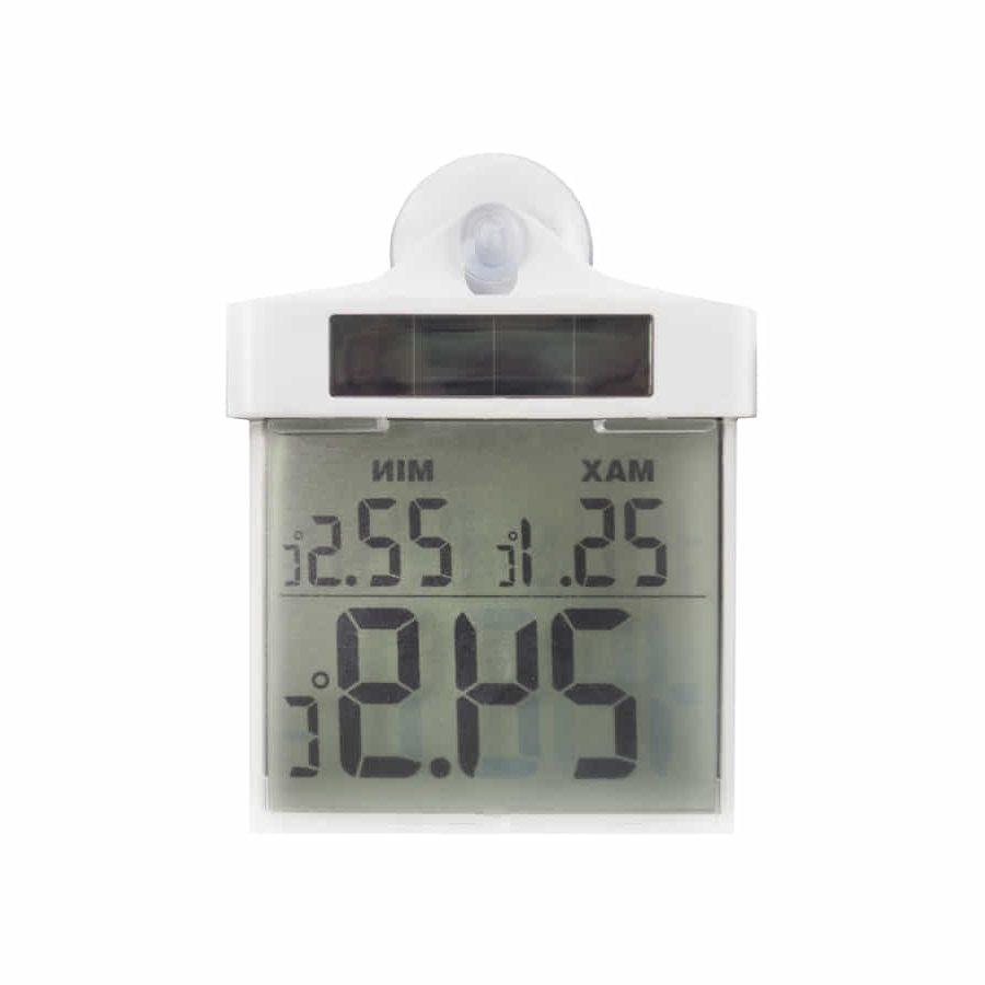 Termómetro digital y solar de ventana de máximas y mínimas – Maxmin out